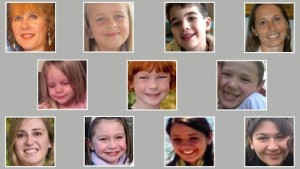 Some of the precious Sandy Hook victims.[with thanks to abcnews.go.com]